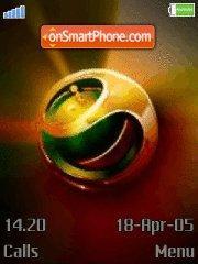 Sony Ericsson 09 theme screenshot