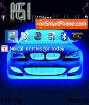 Neon Car theme screenshot