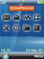 Vista Ericsson es el tema de pantalla
