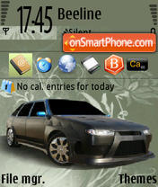 VAZ 2114 theme screenshot