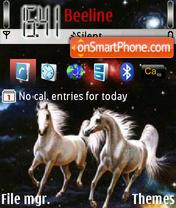 Horses 03 theme screenshot