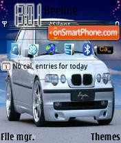 Bmw Compact theme screenshot