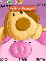 Doggy N Piggy Theme-Screenshot