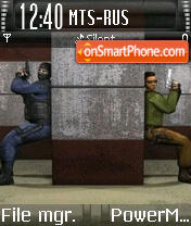 Counterstrike 01 es el tema de pantalla
