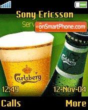 Carlsberg theme screenshot