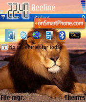 Lion 09 theme screenshot