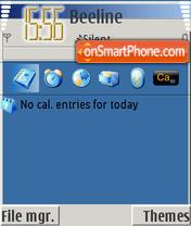 Скриншот темы My Theme XP 240x320