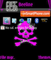 Emo240x320 theme screenshot