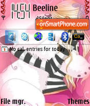 Mishko theme screenshot