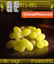 Jucy Grapes theme screenshot