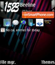 Spatial Colour theme screenshot