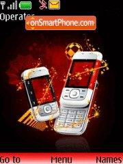 Nokia 5300 theme screenshot