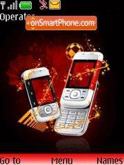 Скриншот темы Nokia 5300