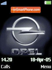 Opel Logo theme screenshot
