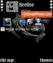 Black Rose 01 es el tema de pantalla