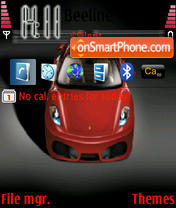 F430 theme screenshot