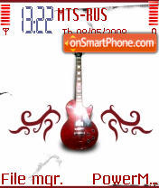 Gitara es el tema de pantalla