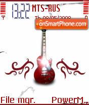 Gitara theme screenshot