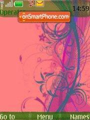 Abstract Swirls theme screenshot