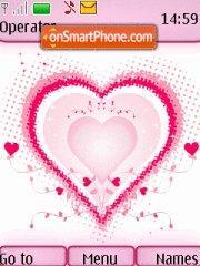 Pink Heart 02 theme screenshot
