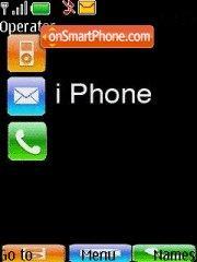 Iphone 04 es el tema de pantalla