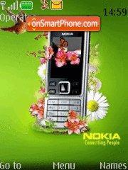 Nokia 6300 theme screenshot