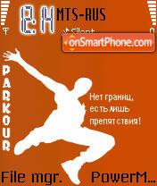 Parkour 04 theme screenshot