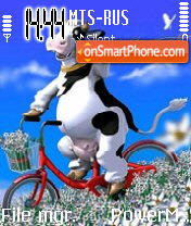 Cow1 theme screenshot