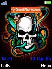 Skull 02 theme screenshot
