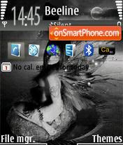 Скриншот темы Night Wish