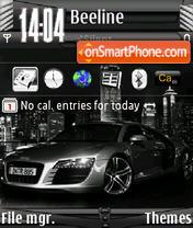 Скриншот темы Audi Black s60v3