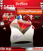 Love letter s60v3 Theme-Screenshot