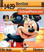 Mickey2 s60v3 theme screenshot