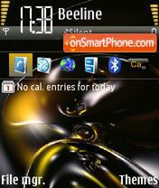Abstract Brown theme screenshot
