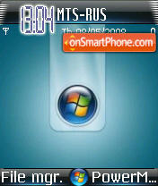Vista 3 tema screenshot