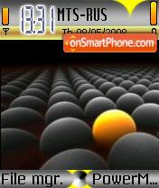 Bolas es el tema de pantalla