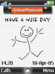 Nice Day es el tema de pantalla