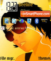 Sun Glasses theme screenshot