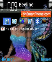 Colorfairy theme screenshot