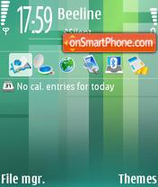 Gossamer theme screenshot