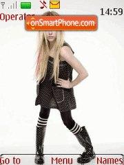 Avril Lavigne 07 theme screenshot