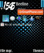 Light Blue Final theme screenshot