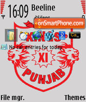 Kings XI Punjab IPL theme 1 es el tema de pantalla