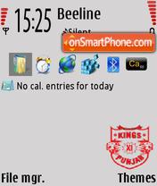 Kings XI Punjab IPL theme 2 es el tema de pantalla