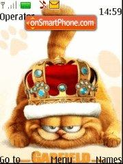 Garfield theme screenshot
