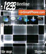 Black tema screenshot