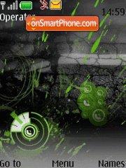 Скриншот темы Neon Noise
