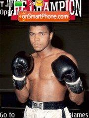 Muhammed Ali theme screenshot