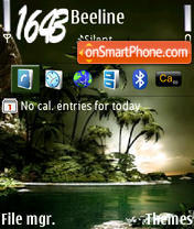 Tropic v2 tema screenshot