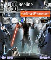 Star Wars 05 es el tema de pantalla